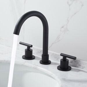 Bathroom Faucet Swivel Spout Two Handle