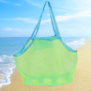 Details zu Swimming Bags Portable Beach Foldable Mesh Beach Storage  Swimming Pool BagOOC