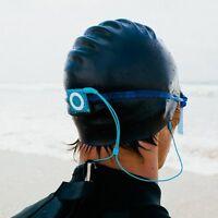 Waterfi Waterproof Short Cord Headphones For Swimming Surfing And Running