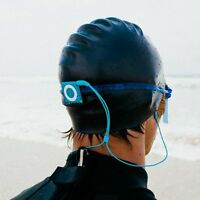 Waterfi Waterproof Short Cord Headphones For Swimming Surfing And Running