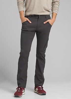 prAna STRETCH ZION PANT FITTED TAPERED CHARCOAL MEN/'S PANTS SIZES M43183-CHARC