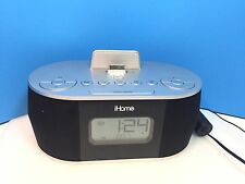 iHome iD38 Radio Alarm Clock with Docking Station Charge iPad/iPhone/iPod