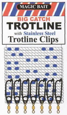 Catahoula Trotline J-Swivels 25CT 23575