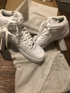 low priced a2793 f8f53 Details about White Nike Air Force One 97 Men's Shoes Size 12.5 New With Box
