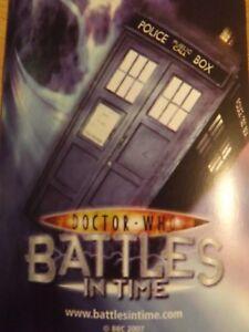 Doctor Who Combat In Time Cartes 5p Chaque Acheter En Vrac En Très Bon État Ozfje7cj-07232056-758673116