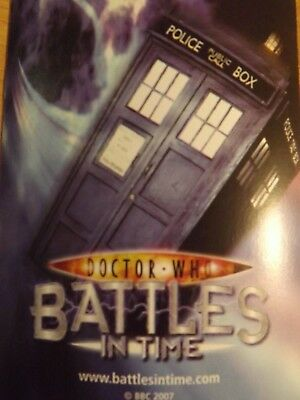 Doctor Who Battles In Time Carte 5p Ogni Acquisto In Bulk In Ottime Condizioni Driving A Roaring Trade Collectibles