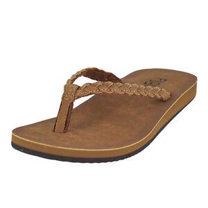 34a69a7b0a32 Flojos Sky Tan Womens Flip-flops Size 6m for sale online