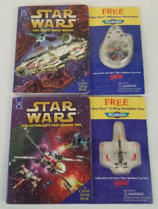 Star-Wars-Han-Solo-039-s-Rescue-Mission-Luke-Skywalker-Race-Against-Time-Books-RARE