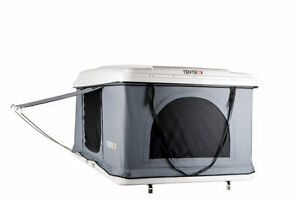 Details about TentBox Hard Shell - Roof Top Tent (White) - GENUINE