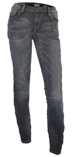 GREYSTONE Jeans W29 L32 grey used Knitter Röhre slim fit 7//8 Stretchjeans