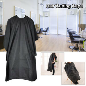 Barbers-Hair-Cut-Cutting-Hairdressing-Hairdressers-Salon-Barber-Gown-Cape-Black