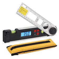 0 270 Lcd Digital Inclinometer Protractor Spirit Level Angle Finder Gauge Meter