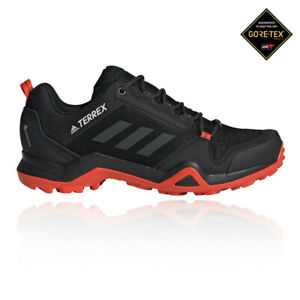 adidas-Mens-Terrex-AX3-GORE-TEX-Walking-Shoes-Black-Orange-Sports-Outdoors