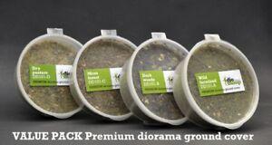 DioDump-DD101-E-Premium-diorama-ground-cover-VALUE-pack-4-cups-bags