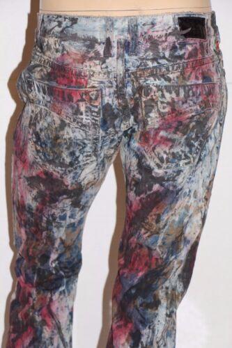 New Men/'s ROBIN/'S JEAN #D5471MUL MARLON Straight Leg Jeans 100/% Authentic