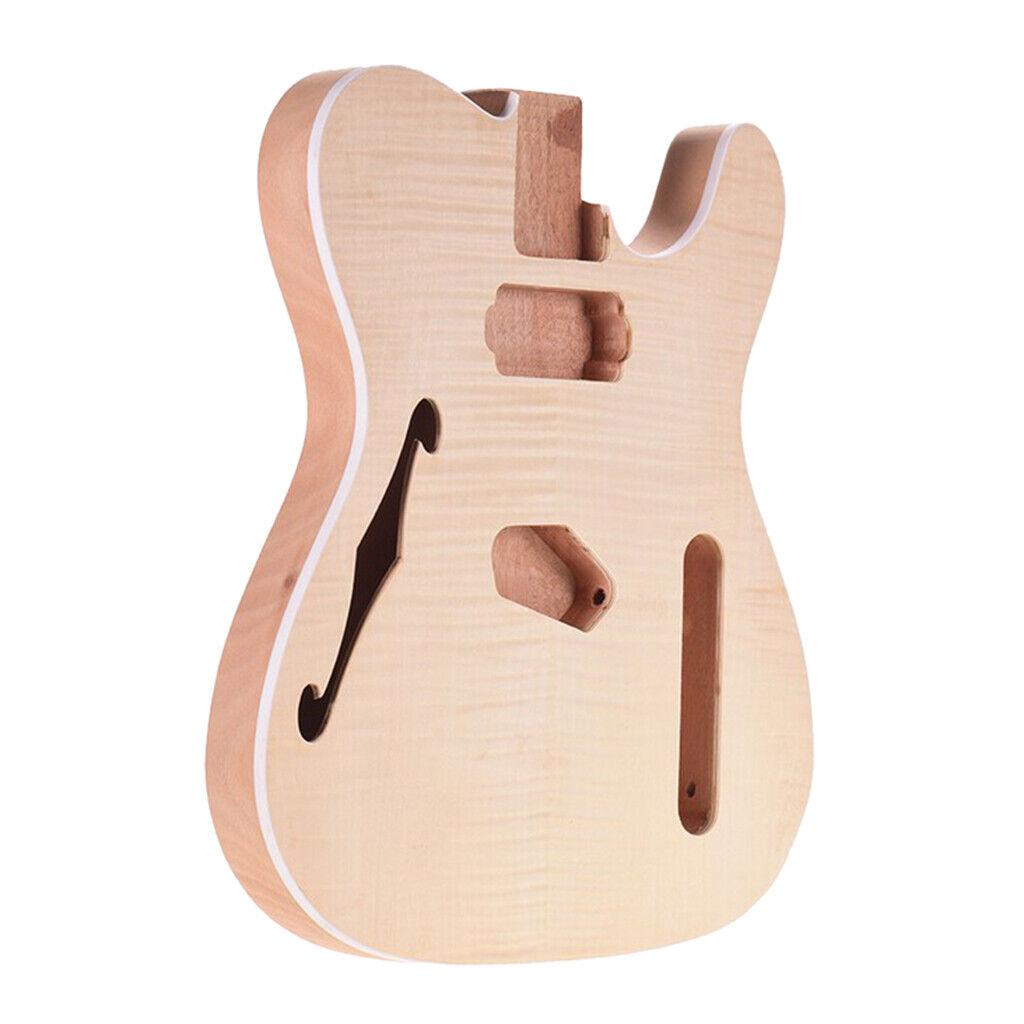 Premium Gitarrenkörper, Mahagoni E Gitarren Korpus   Body für ST E Gitarre