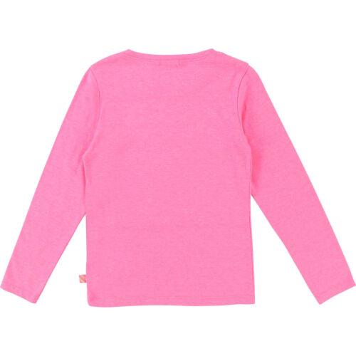 Billieblush Longsleeve Asia Style 3D Pfau pink 98 104 110 116 122 128 134 140