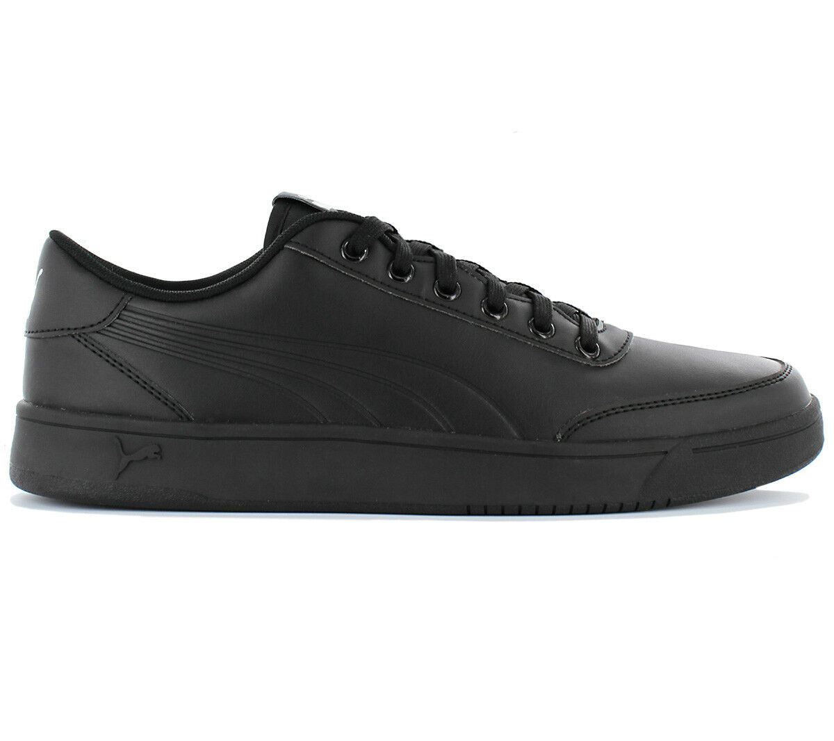 Puma Court Breaker L Mono Zapatillas de Hombre Zapato Piel Negro Deportiva