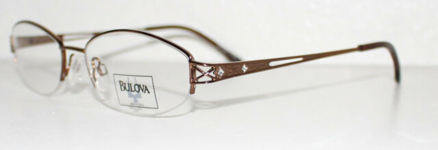 Bulova Mazatlan Brown Optical Eyeglass Frame for Women | eBay