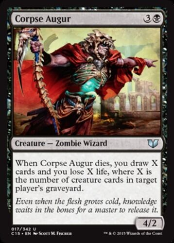 English x4 Corpse Augur MTG Commander 2015 U M//NM