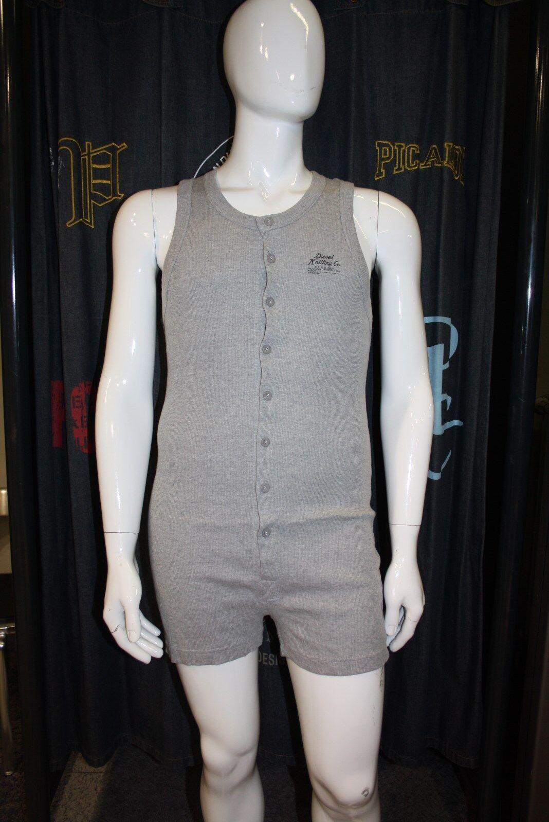 Diesel Intimo Body Underwear grau grau 100% 100% 100% Baumwolle Berlin Intimate Longjohn     | Kostengünstig  | Genial  | Ein Gleichgewicht zwischen Zähigkeit und Härte  | Der Schatz des Kindes, unser Glück  | Merkwürdige Form  7831d3