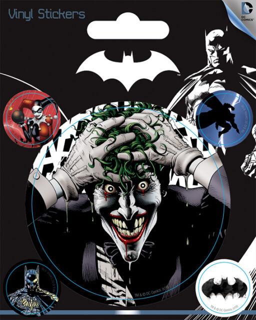 DC Comics (Batman) Vinyl Stickers *OFFICIAL PRODUCT*