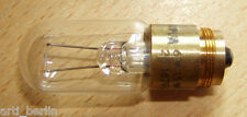 NARVA LWT-P5 Z16 6V 15W Mikroskop Spezial-Glühlampe Lampe Glühbirne ZEISS Jena