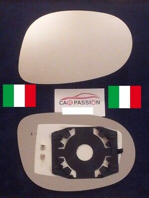piastra vetro specchio NEW LANCIA YPSILON 7//11/> retrovisore SX mirror