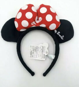 Disney Parks Minnie Mouse Ears Party Festival Halloween Red Hat Cos Headband