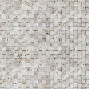 Mosaic Tile Effect Self Adhesive Wallpaper Vinyl Peel