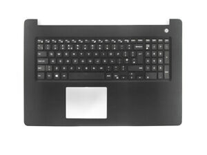 Genuine-Dell-Inspiron-17-5770-UK-Layout-Keyboard-Palmrest-BLACK-K52YP
