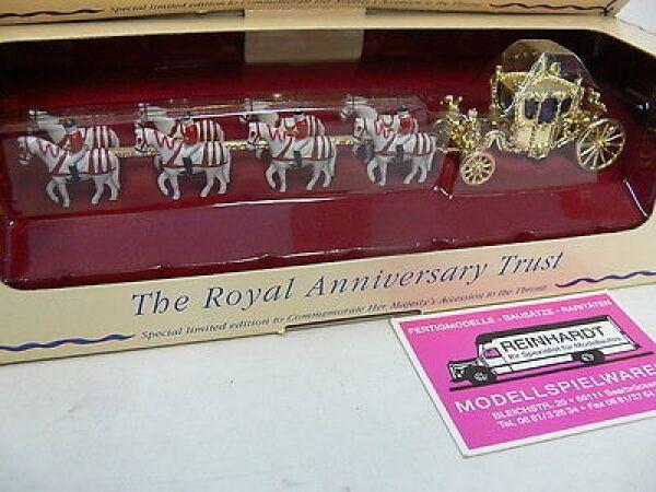 MATCHBOX YESTERYEAR d'or Carrosse Queen Elisabeth yy66
