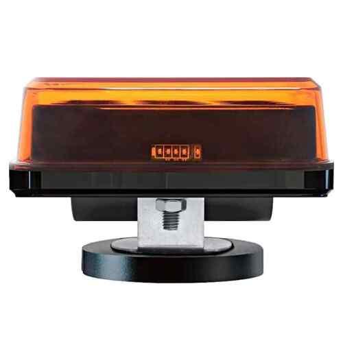 LED Warnleuchten AKKU 12V//24V Magnet 2x Heckwarner Blitzleuchten Kennleuchten