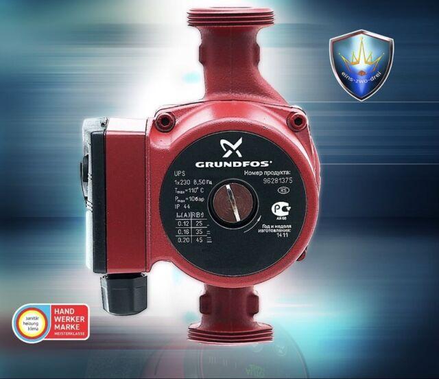 Grundfos UPS 25-60 Heizungspumpe 230 Volt Umwälzpumpe 180 mm gebraucht P2010//18