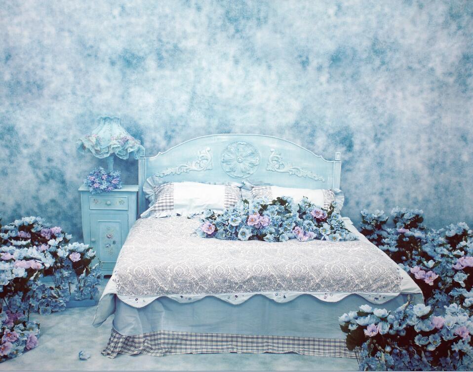 3D Ölgemälde Blaumen Beet 7983 7983 7983 Tapete Wandgemälde Tapeten Bild Familie DE Lemon | Günstige  |  9f14f4
