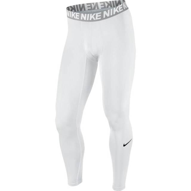 7eb334878a Men's Nike Dri-FIT White Base Layer Compression Cool Tights Size XL - NWT