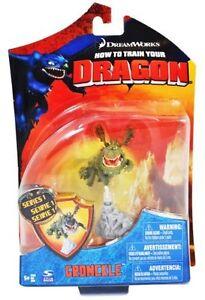 Dragon de Gronkle Comment dresser votre film Figure d'action 4 pouces Gronckle 778988859377