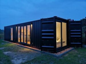 Converted-Shipping-Container-40ft-Holiday-Home-Portable-House-Cabin-Garden-room