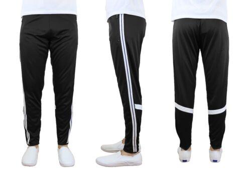 Stripe Jogger Active Training Cross Fit Moisture Wicking Men/'s Track Pants