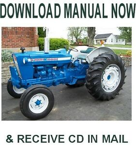 ford 4000 4400 4500 tractor 1965 1975 factory ford repair service rh ebay com ford 4500 tractor service manual 4500 Ford Owner's Manual