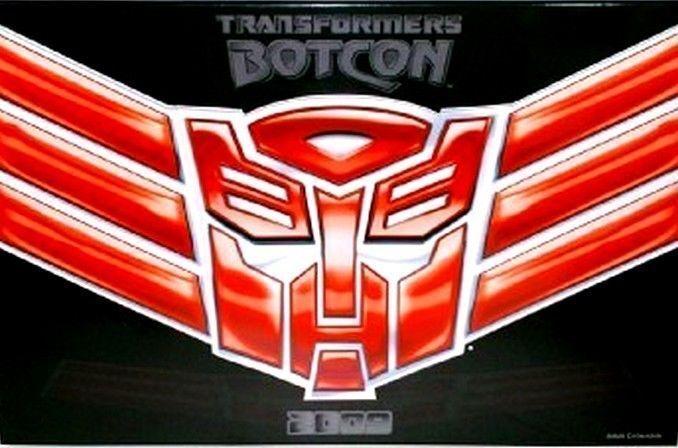 Transformadores BOTCON exclusivo 2009 plazos Alas de honor Box Set Con Cert Aut