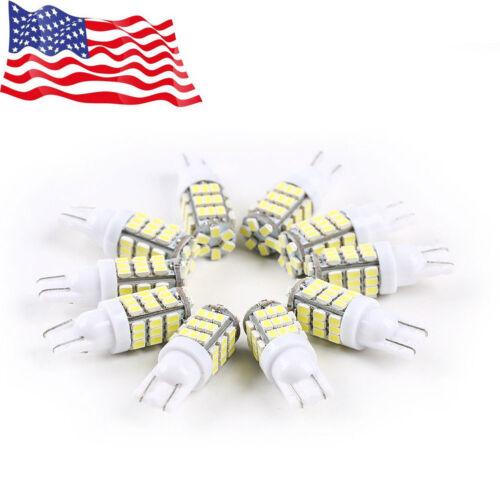 10x Super White T10//921//194 RV Trailer 42-SMD Backup Reverse LED Lights Bulbs