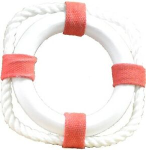 Details about Life Ring Red and White Resin 4