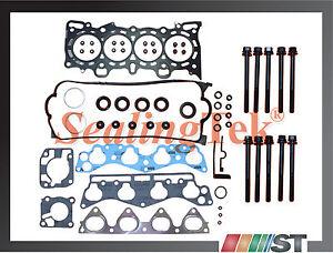 Compatible-96-00-Honda-1-6L-SOHC-Junta-de-Culata-Juego-con-Pernos-D16y5-D16y7