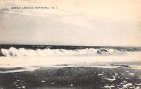 USA New Jersey Scene Around Hopewell sea waves