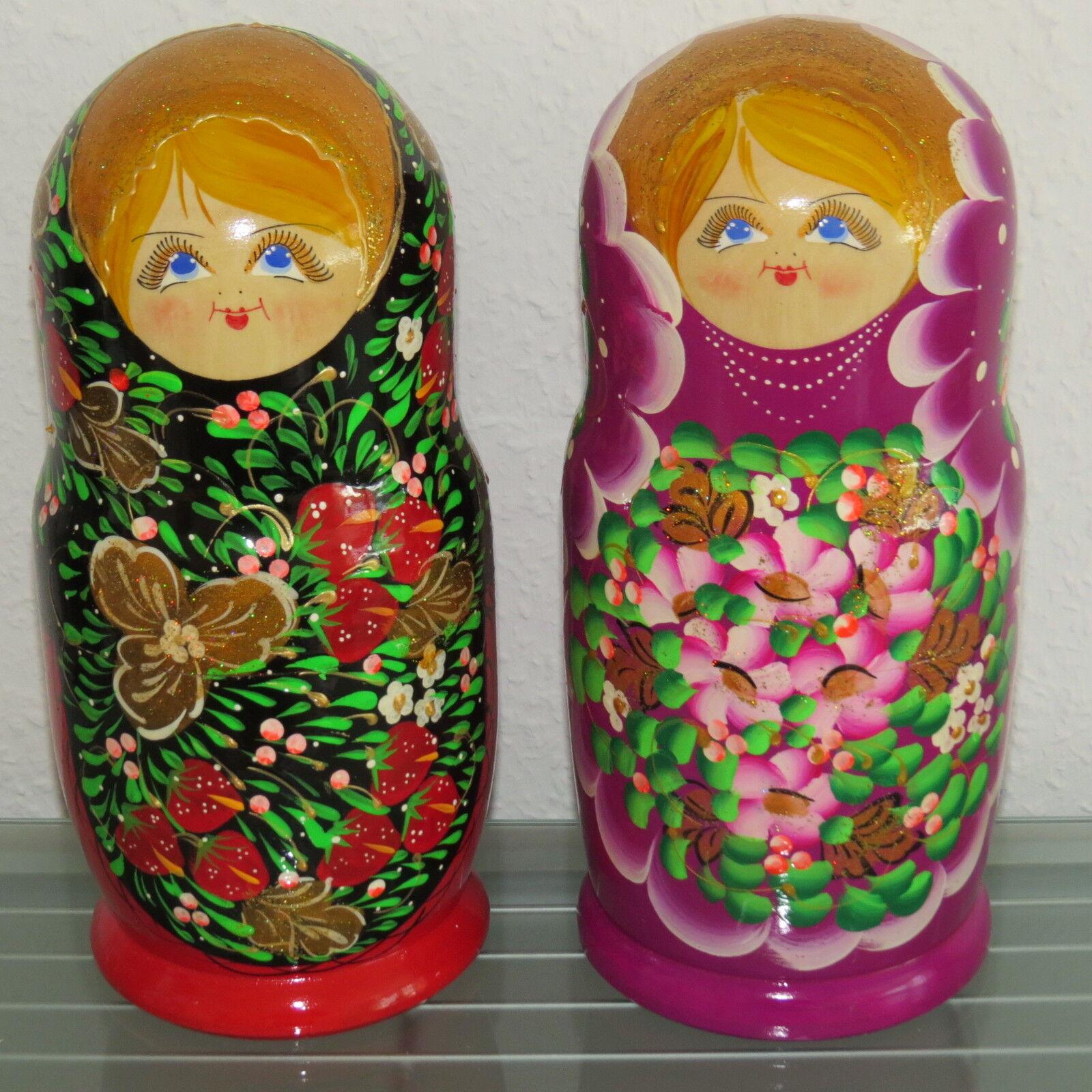 Baautobuschka MATRIOSKA cioé matruschka bambole russa 10 pezzi 10  pezzi  marche online vendita a basso costo