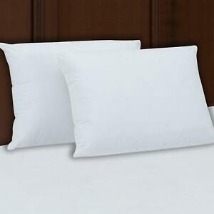 "Extra Super Firm Pillow KING SIZE Set//2 Bed Pillows 3/"" SuperSide FREE SHIPPING"