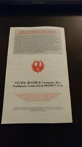 Ruger M-77 Mark II Bolt Action Rifle Owners Manual KD & KDM 1/97 R5........TH-MR