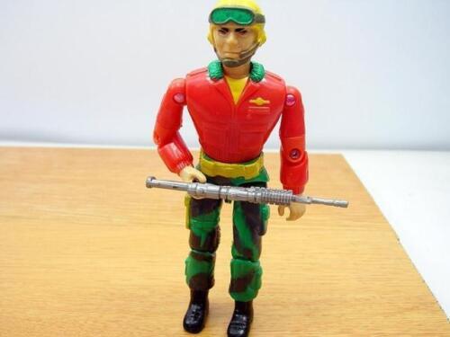 "3.75/"" Gi Joe  LANARD with Weapon  Rare Action Figure"