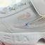 miniatura 9 - NUOVO Bambini FILA Disruptor II 2 KD Bianco/Rosa FS1CDA1092X 170mm - 210mm takse